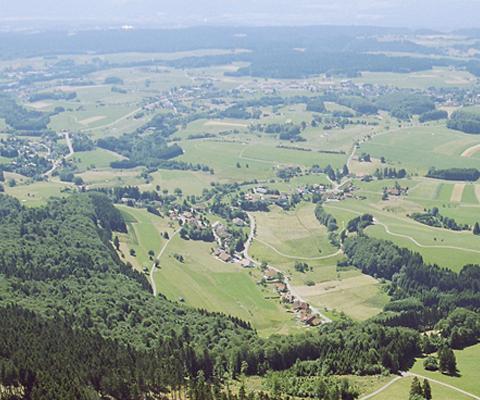 Blick auf den Hotzenwald.